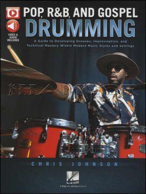 Pop, R&B, and Gospel Drumming Book/Audio/Video