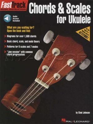 Fast Track Chords & Scales for Ukulele Book/Audio