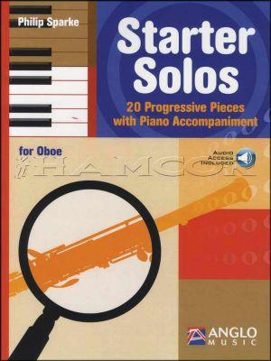 Starter Solos for Oboe Music Book/Audio